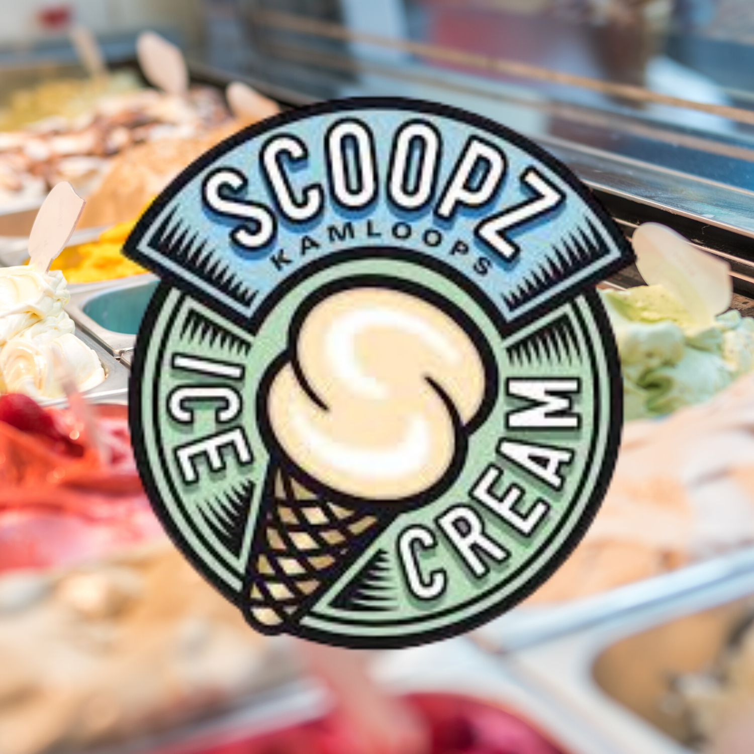 Scoopz Ice Cream Logo