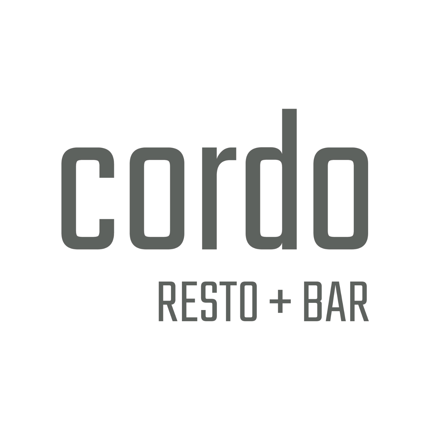 Cordo Rest +Bar Logo
