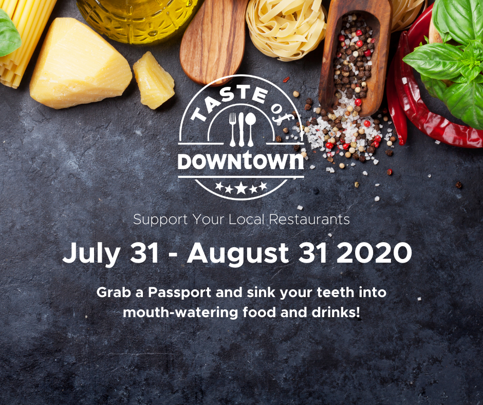 TASTE OF DOWNTOWN Cover Image
