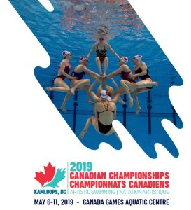 Canadian Artistic Swimming Championships 2019 @ The Tournament Capital Center ( TCC )