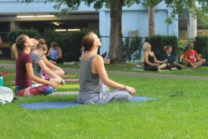 Yoga in the Park @ St. Andrews on the Square